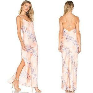 Free people Cassie girl maxi slip floral dress